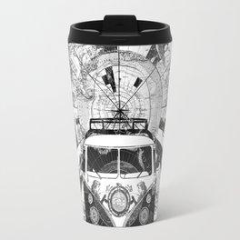 vintage voyager world map design 7 Travel Mug