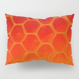 Honeycomb Gold - The Bee's Gift Pillow Sham