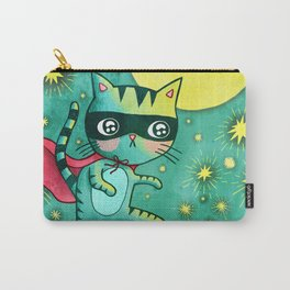 Cat Bandit Carry-All Pouch
