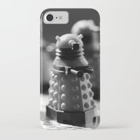 robots iPhone & iPod Cases featuring Robots by Emma Harckham