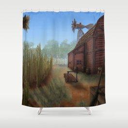 Small Farm Shower Curtain