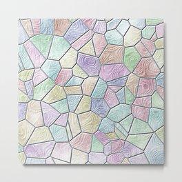 Mosaic LORA,candy Metal Print