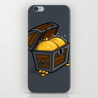 booty iPhone & iPod Skins featuring Booty by Santo76