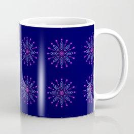 Space Flower Pattern Coffee Mug