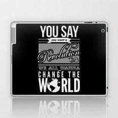 Revolution.  Laptop & iPad Skin