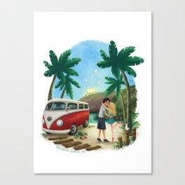 Summer Travels Canvas Print