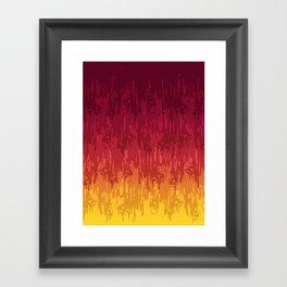 Meltdown Hot Framed Art Print