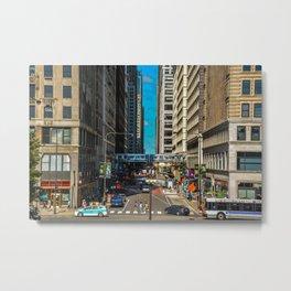 Downtown Chicago Metal Print