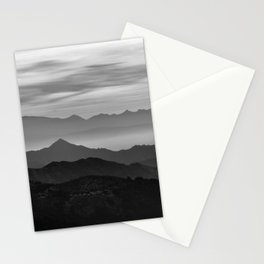 Mountains mist. BN Stationery Cards