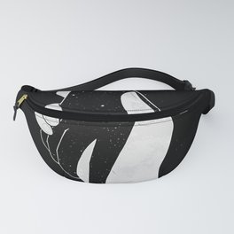 Loneliness by Line Art. Fanny Pack