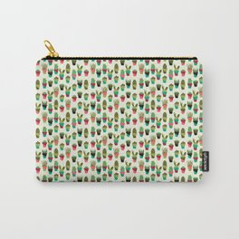 Succulents in Pots Carry-All Pouch