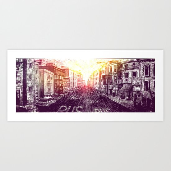 The Tenderloin Art Print