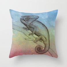 Chameleon (3) Throw Pillow