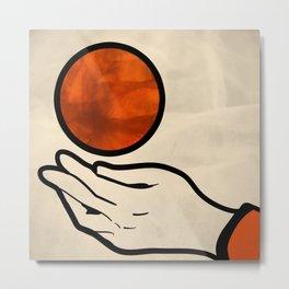 juggle Metal Print
