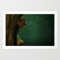 ape Art Prints featuring APE by Ersen-T