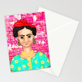 Frida OK Pink Stationery Cards