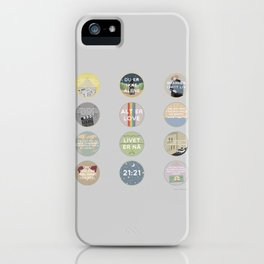 EVAK: A MINIMALIST LOVE STORY VOL. II iPhone Case