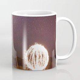 Lightpainting under the stars Coffee Mug