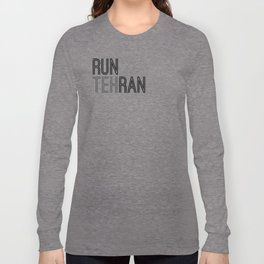 RunTehRan Long Sleeve T-shirt