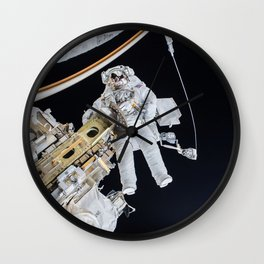 Spacewalk Wall Clock