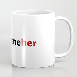 Entrepreneher - red Coffee Mug
