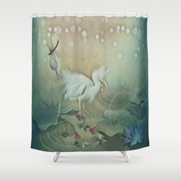 Haven of Solitude Shower Curtain