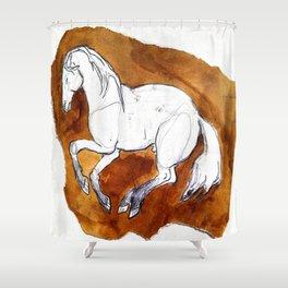 Oh Gosh I'm a Horse Shower Curtain