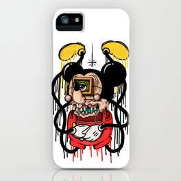 Rickey Rouse iPhone Case