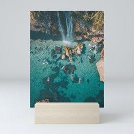 Mediterranean Sea Mini Art Print