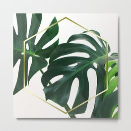 LUXE x Plant Life Metal Print