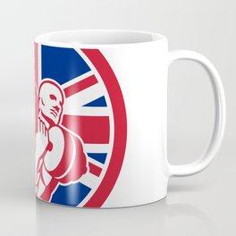 British Gym Circuit Union Jack Flag Icon Coffee Mug