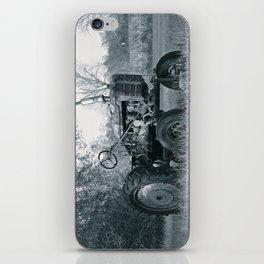 Farmer's Best Friend - B & W iPhone Skin