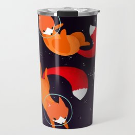 Space Foxes Travel Mug