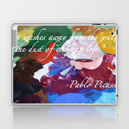 Paint like Picasso. Laptop & iPad Skin