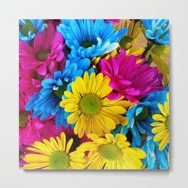 Colorful spring flowers Metal Print