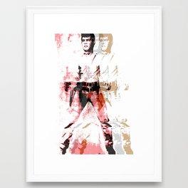 FPJ gin pomelo Framed Art Print