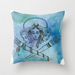 Hekate Throw Pillow