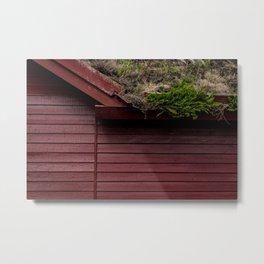 The Scandinavian House Metal Print