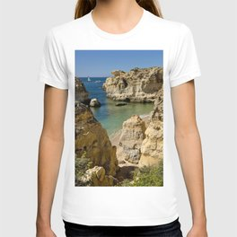 Sao Rafael cove, Portugal T-shirt
