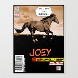 Joey A War Horse Canvas Print