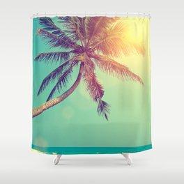 Palm Tree in Sri Lanka Shower Curtain