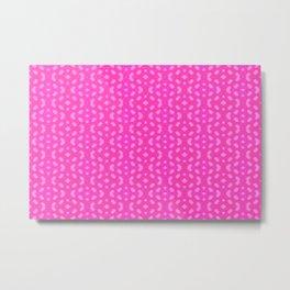 Little pattern in pink ... Metal Print