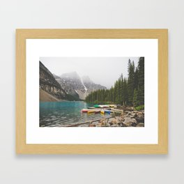 Moraine Lake Framed Art Print