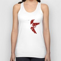 infamous Tank Tops featuring Second Son by KanaHyde