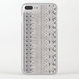 Adobe in Taupe Clear iPhone Case