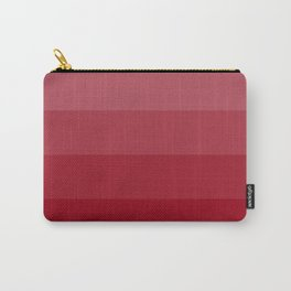 Four Shades of Red Carry-All Pouch