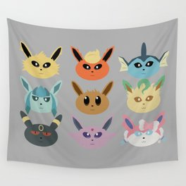 The Silly Beasts Wall Tapestry