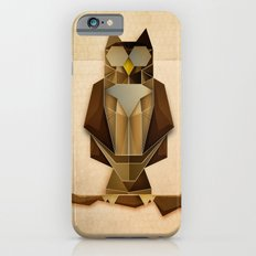 Owl riffic paper cutout vector jazz iPhone 6s Slim Case