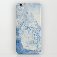 Gum arabic print of rock iPhone & iPod Skin