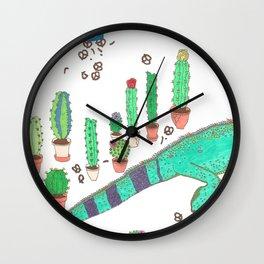 GARDEN SNACKER Wall Clock